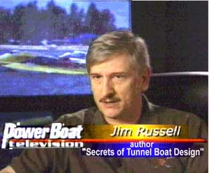 Jim Russell on Powerboat TV